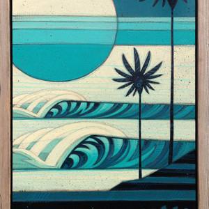 """Coral Moon"" by Erik Abel"