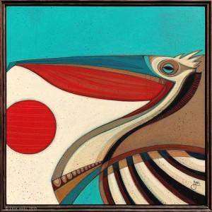 """""""Pelican # 3"""" by Erik Abel"""