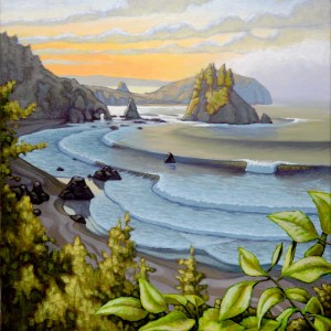 """Sunrise Over the Cove"" by Matt Beard 